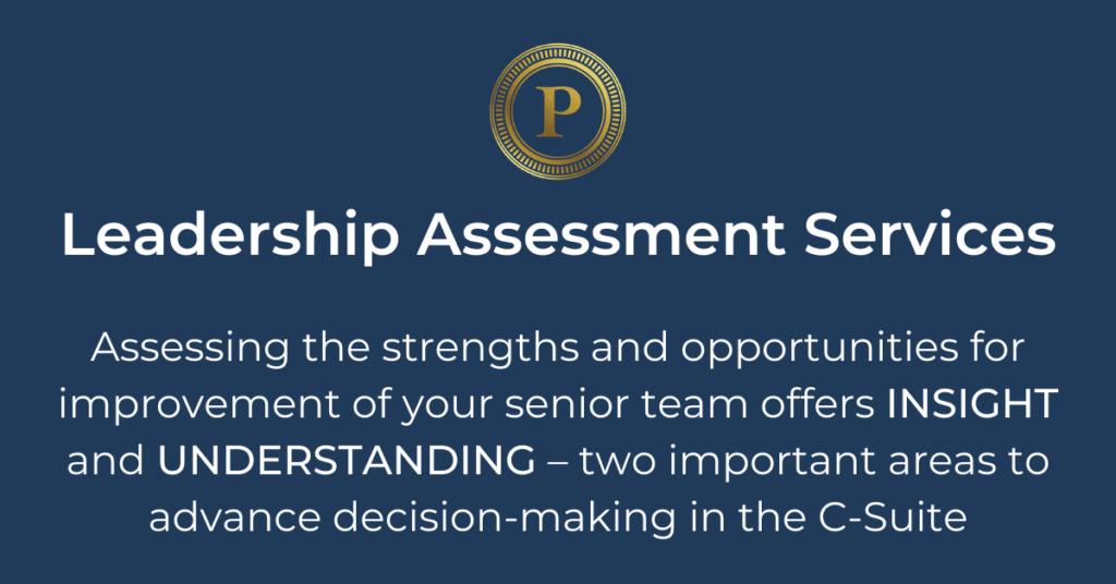 Leadership Assessment Services - Plousha Moore Group
